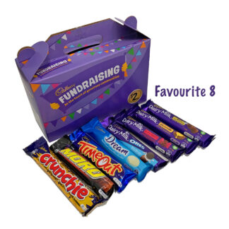 Cadbury Fundraising Chocolates Favourite8 All Stars