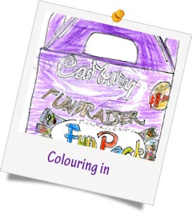 colouring competition fundraising