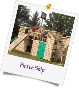 pirate ship fundraising